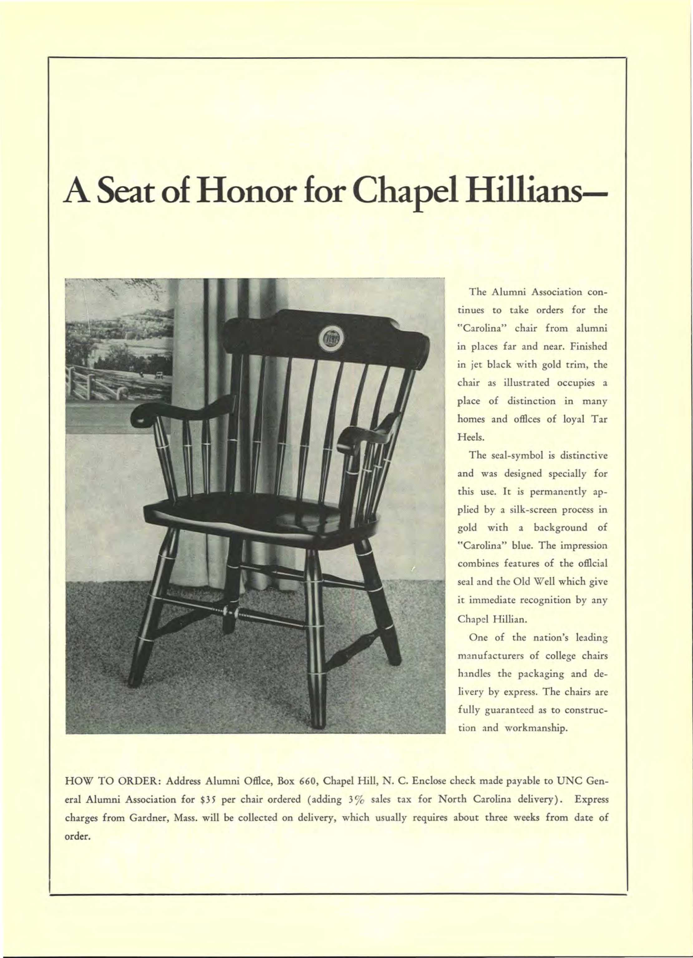 Terrific Carolina Alumni Review January 1964 Page 66 Gmtry Best Dining Table And Chair Ideas Images Gmtryco