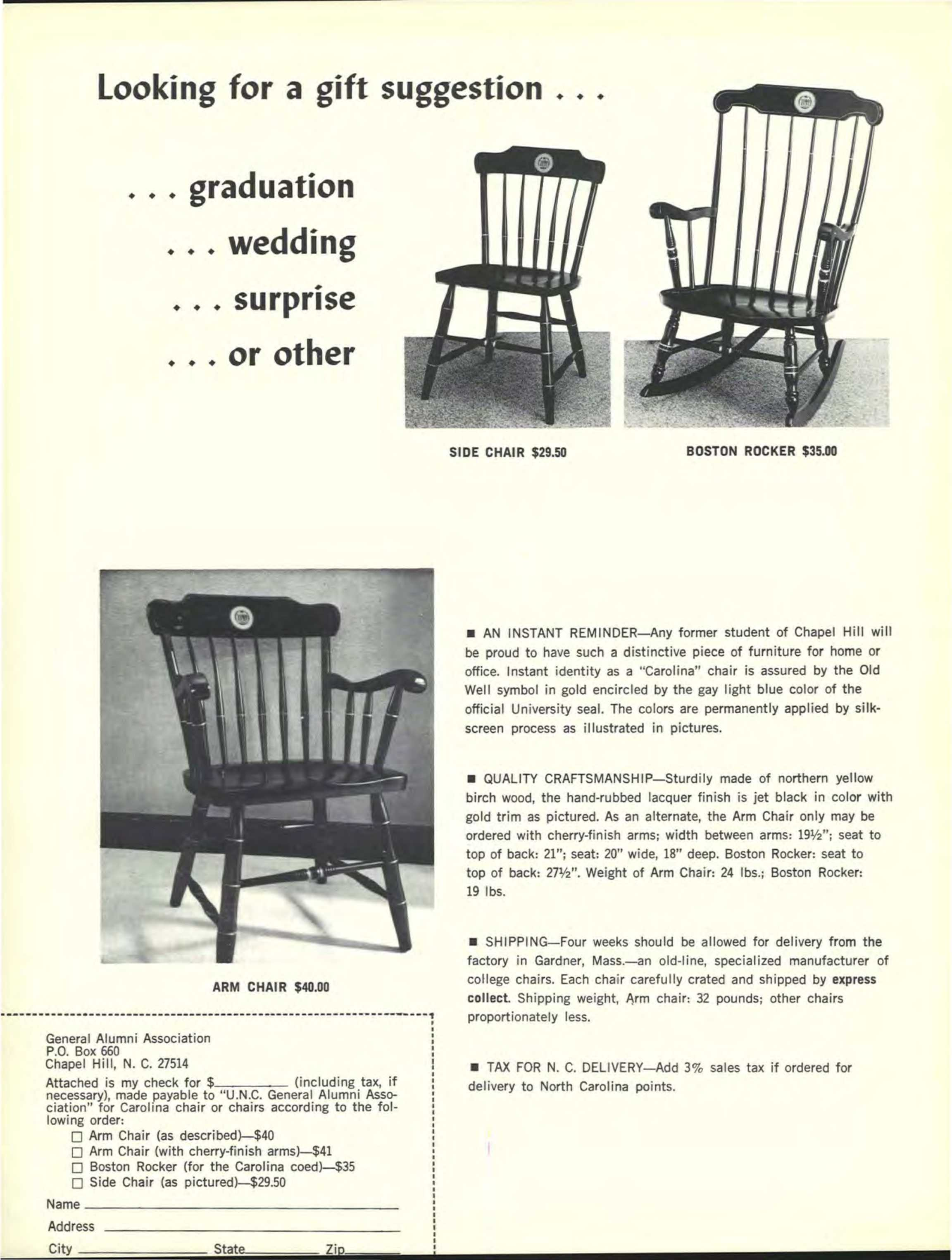 Fabulous Carolina Alumni Review June 1969 Page 1 Gmtry Best Dining Table And Chair Ideas Images Gmtryco