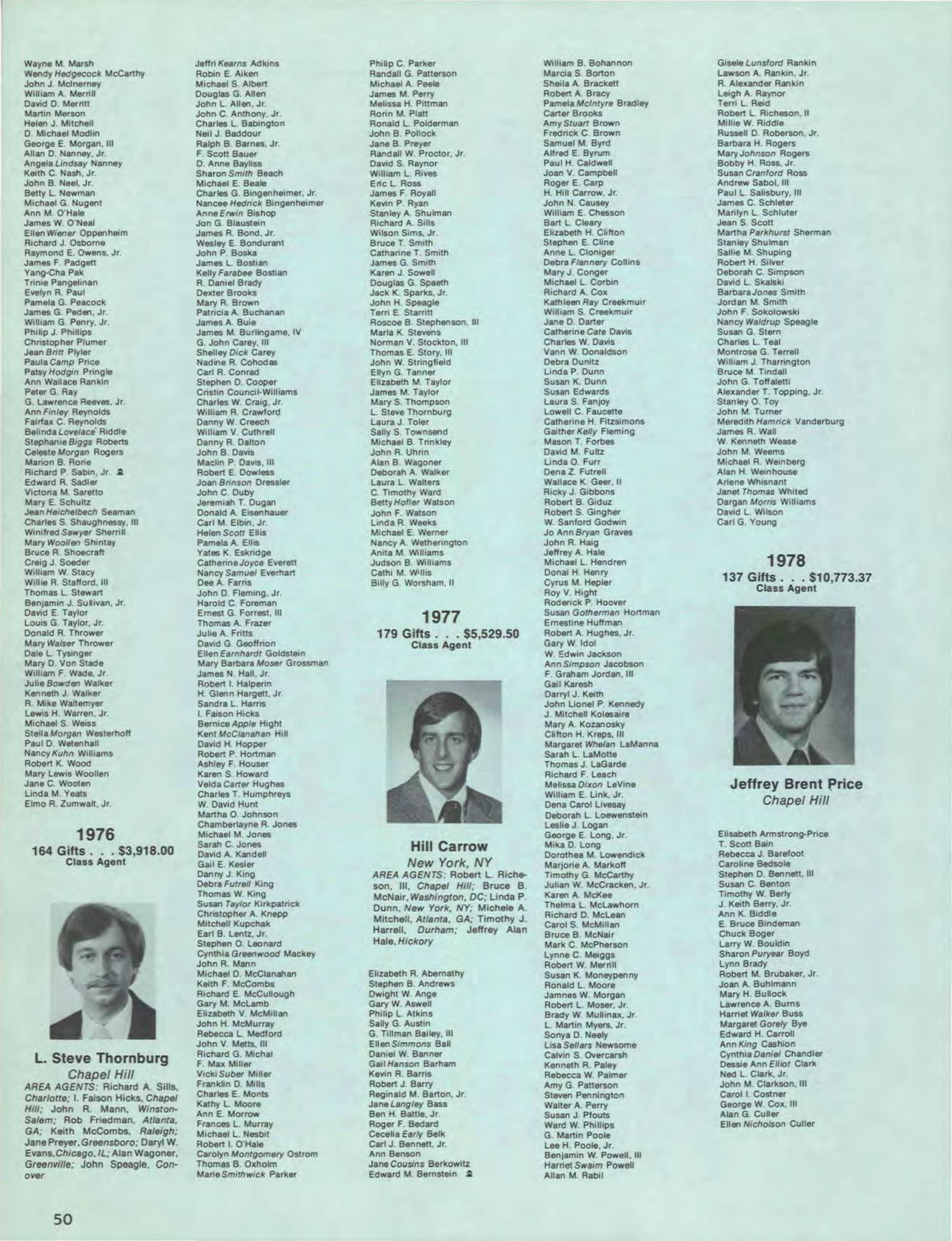 Carolina Alumni Review - September 1979 - page HR49