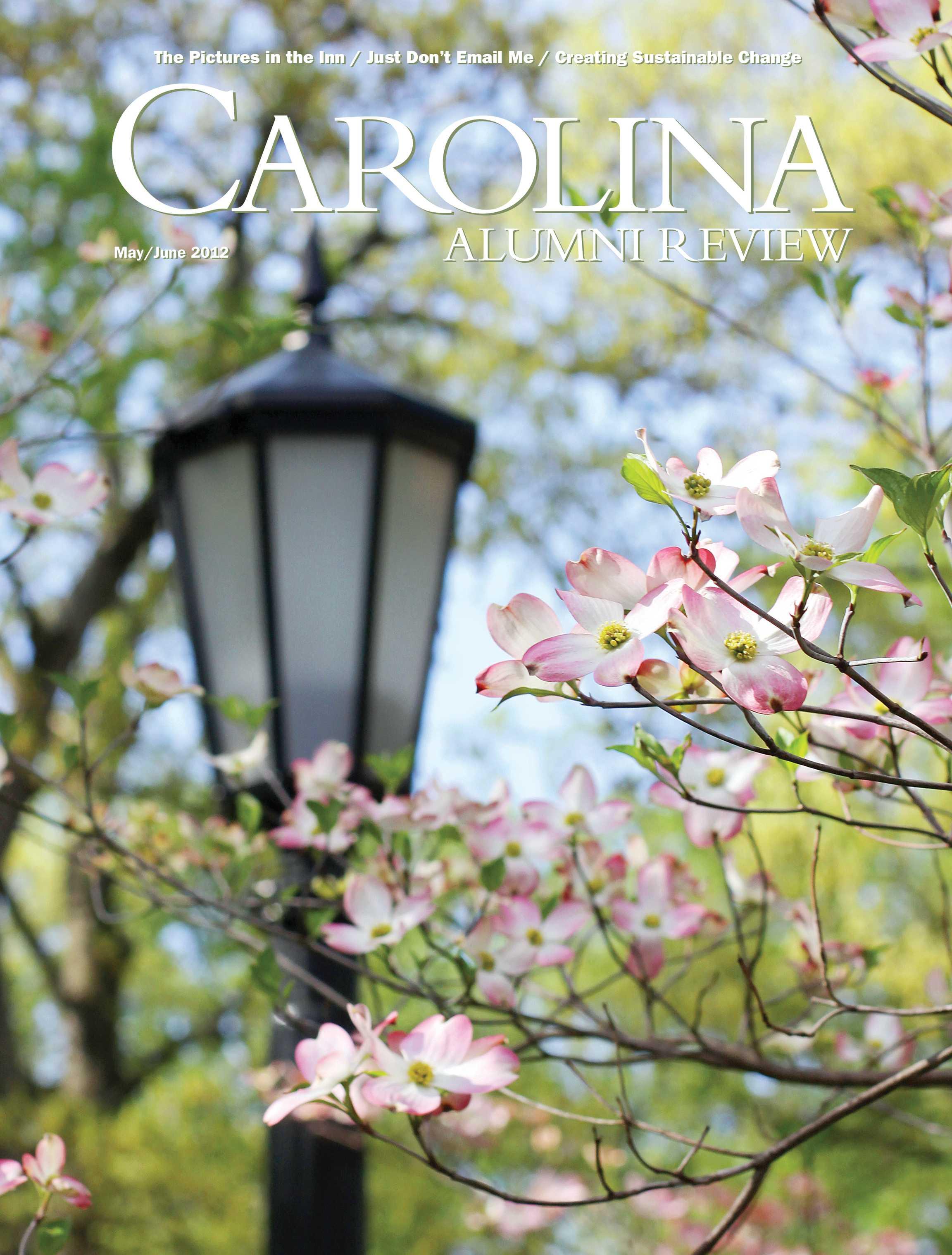 Carolina Alumni Review Mayjune 2012 Page Cover