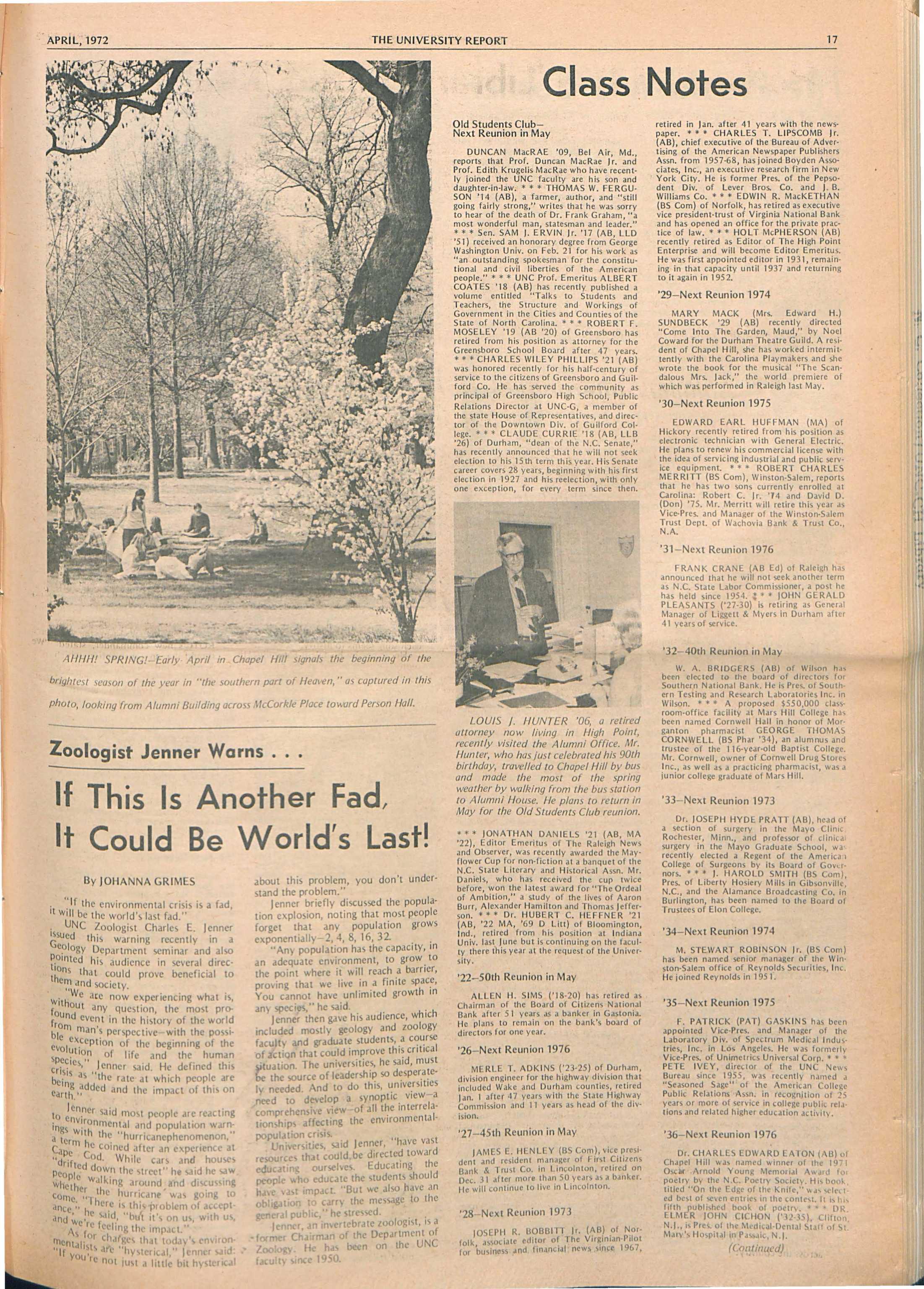 de19a40344 The University Report - April 1972 - page 17