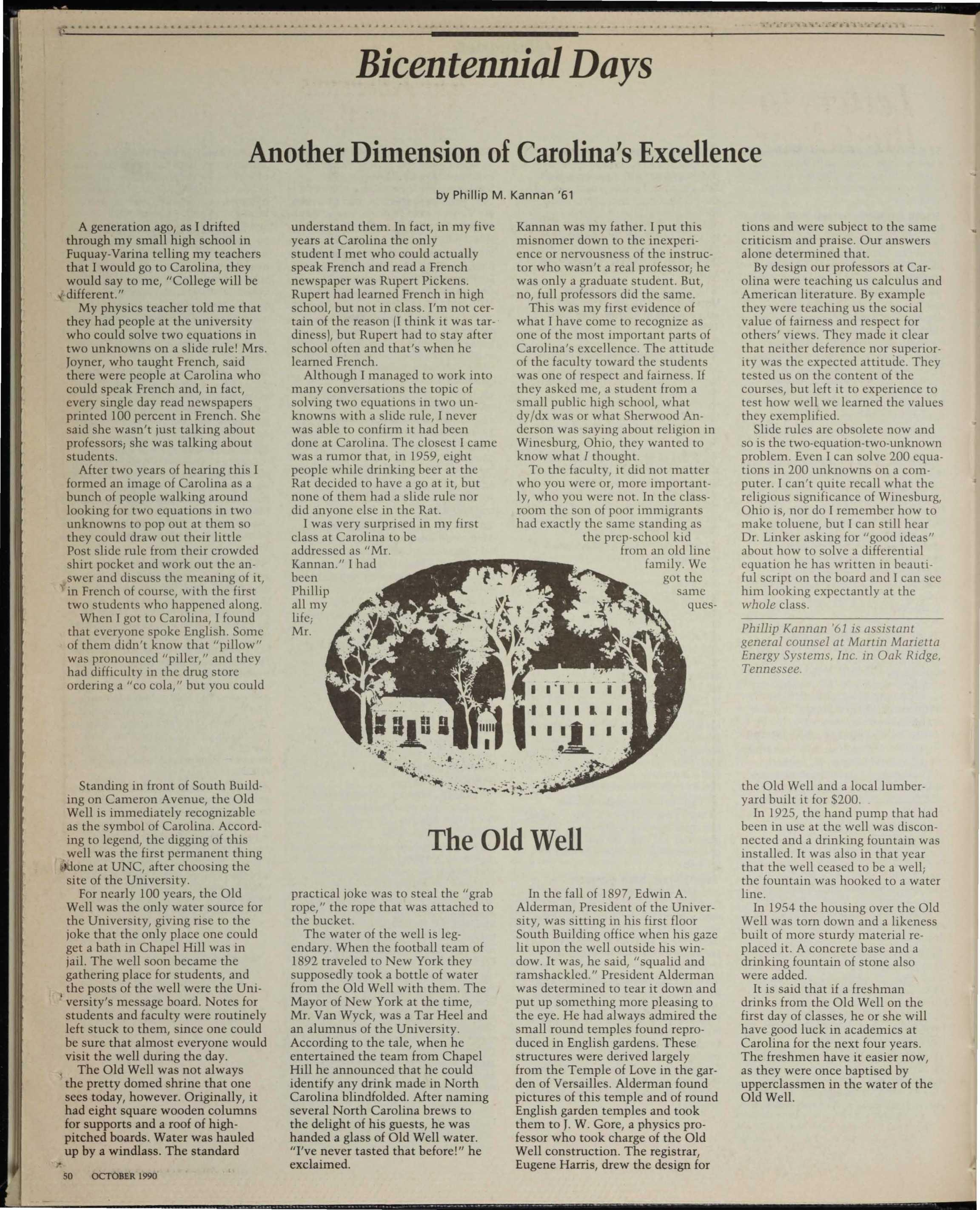 The University Report - October 1990 - page 50